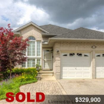 Henry Verbakel's Sold House, London Ontario